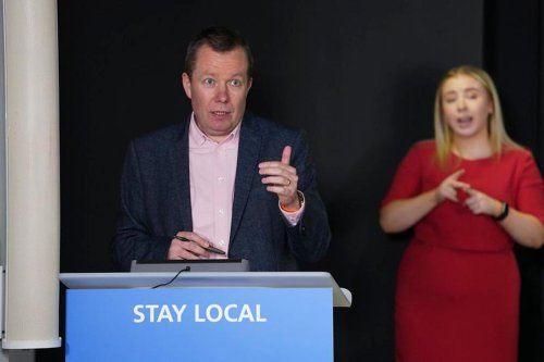 Extended Glasgow lockdown may last longer than a week, says Jason Leitch