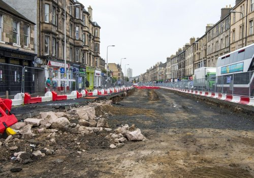 Council says next stage of work on Edinburgh's tram extension starts next month