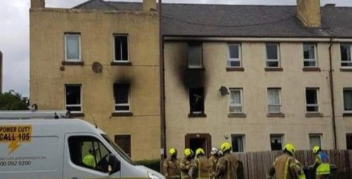 Family pets lost and children in hospital after having to jump from window in Craigentinny flat fire horror