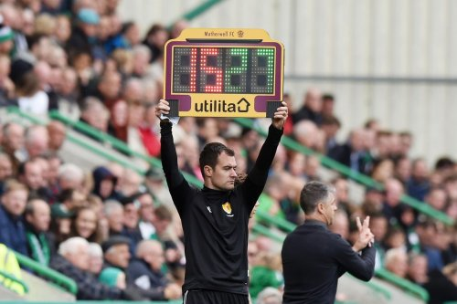 The Scottish Premiership substitution change for season 2021/22 which impacts Hibs but not Hearts