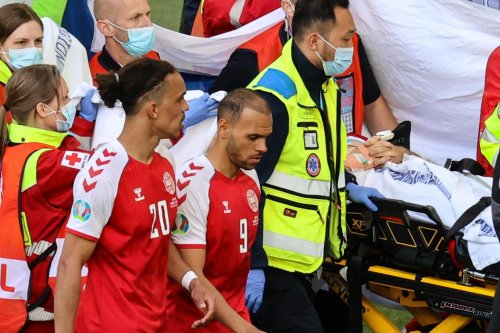 Christian Eriksen: Danish FA provide morning update on his condition and encourage messages to be sent