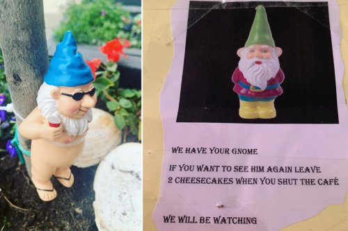'I am not sure what is going on' - Edinburgh cafe makes international headlines over kidnapped garden gnome