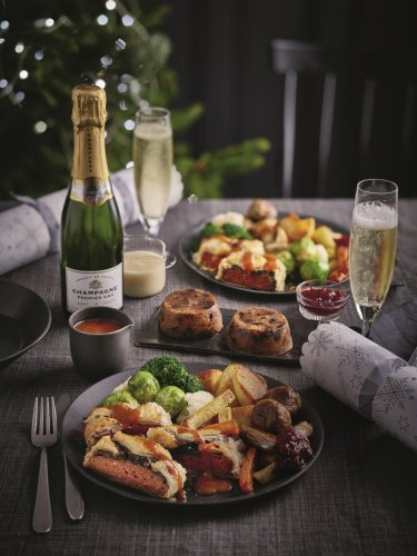 Tesco is selling Christmas dinners in a box for £35 - here's what you get