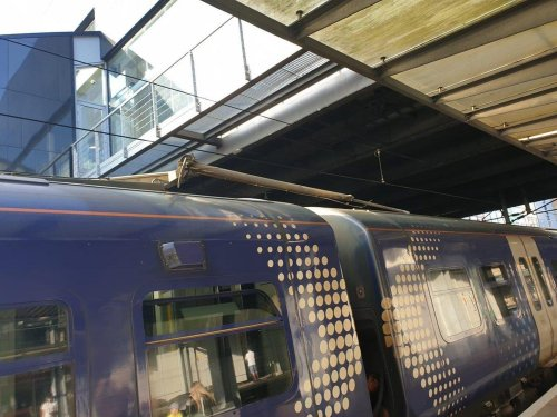 Four hour Caledonian Sleeper delay and major ScotRail disruption caused by Edinburgh overhead power line damage