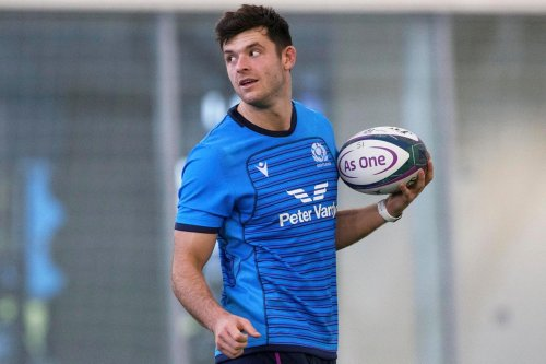 Blair Kinghorn named in Scotland squad as a stand-off and will vie with Ross Thompson for 10 jersey against Tonga