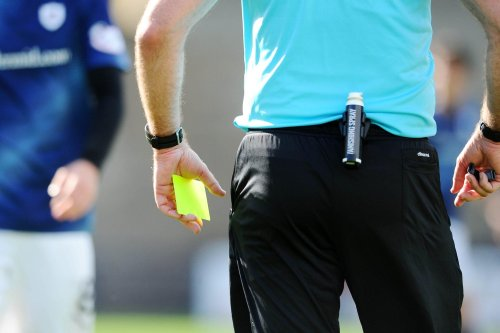 Who is the referee for the games in the Scottish Premiership and Championship this weekend