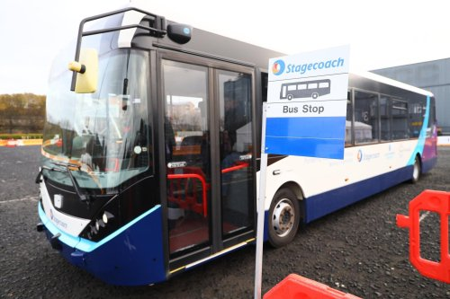 'We don't think the public are ready to trust it just yet', Stagecoach admits over Fife-Edinburgh autonomous bus trial