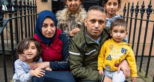 Edinburgh refugee family appeal to Scots to form community groups to help others from Syria