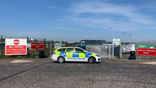 Seafield recycling centre closed as specialist teams probe 'unidentified item' at site