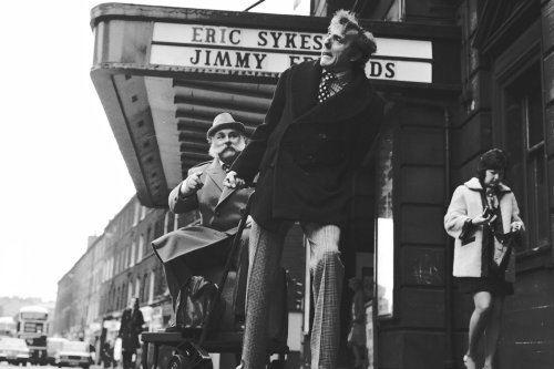 Eric Sykes and the 'legendary' farce Big Bad Mouse at Edinburgh King's