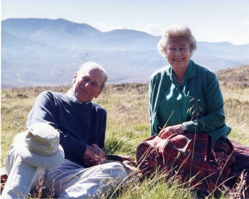 Poignant photo of Queen and Philip relaxing in Scotland released ahead of funeral