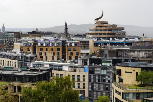 I love the St James Quarter's skyline-changing architecture (and the fact it annoys so many people) – Vladimir McTavish