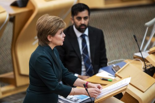 First Minister's Questions: Nicola Sturgeon accused of 'new low' over ambulance waiting times