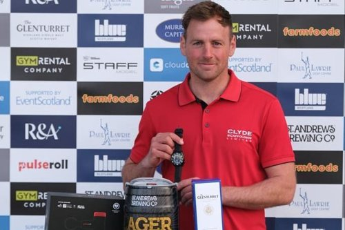 Gavin Hay wins Montrose Links Masters with Alan McCloskey's help