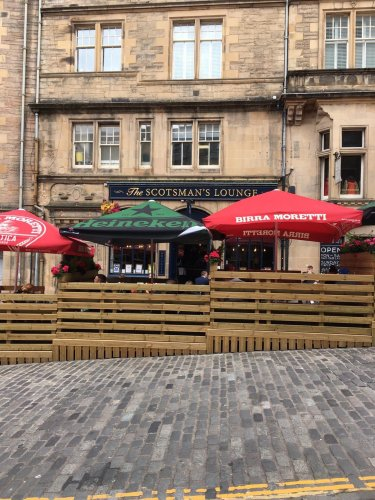 Edinburgh pub owner blasts council after being told to take down seating area within weeks