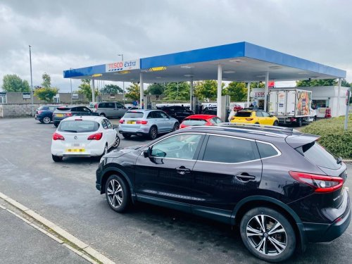 Queues spotted at Scottish petrol stations amid concerns of fuel shortages