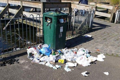 Edinburgh's streets are getting dirtier and more littered, latest figures reveal