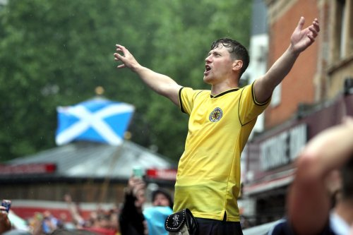 12 pictures of Tartan Army descending on Leicester Square ahead of England vs Scotland Euro 2020 game kick off