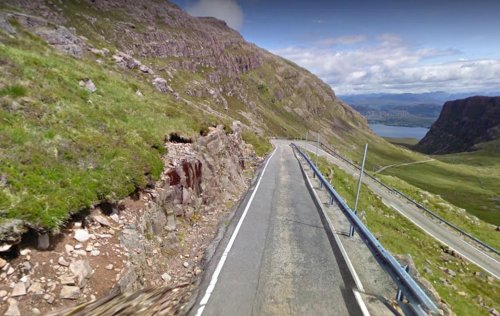 Applecross road: Shock as large motorhome spotted on dangerous Bealach Na Ba mountain pass