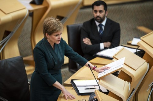 Nicola Sturgeon's protection of Humza Yousaf doesn't extend to scooter mishaps