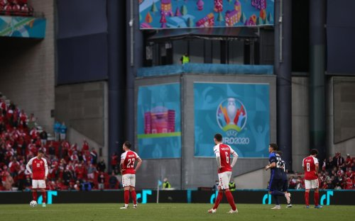 Christian Eriksen: Global feed broadcast director explains decision-making behind footage of Denmark player's collapse