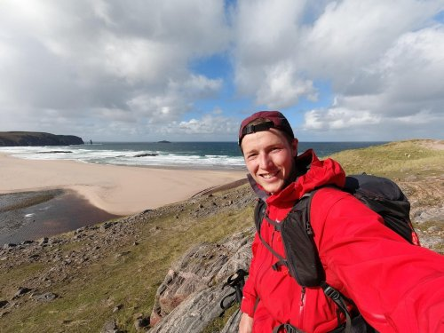Man smashes record after walking 500 miles - but has to walk 16 more after ferry cancelled