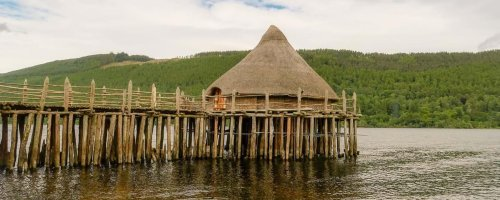Historic Iron Age site on Loch Tay, the Scottish Crannog Centre, is destroyed by overnight blaze