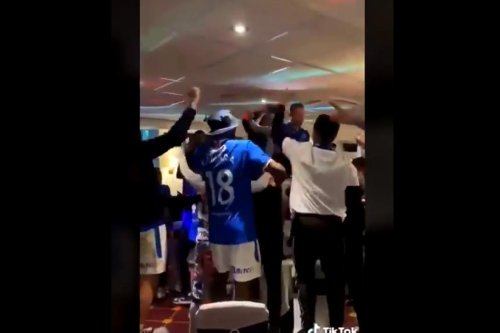 Video allegedly shows Rangers players using 'sectarian language' during celebrations