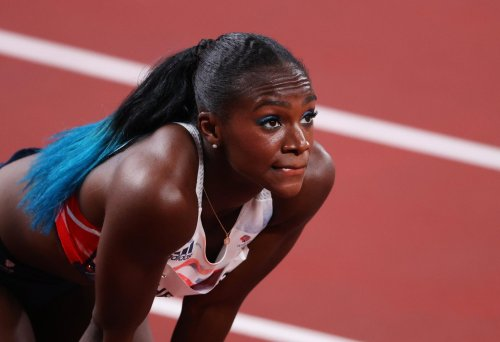 Dina Asher-Smith in tears as she reveals secret injury that destroyed her Olympic dream