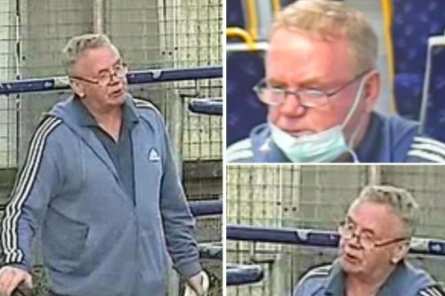 Police release images of a man who may have information on an incident when a child was racially targeted on a train