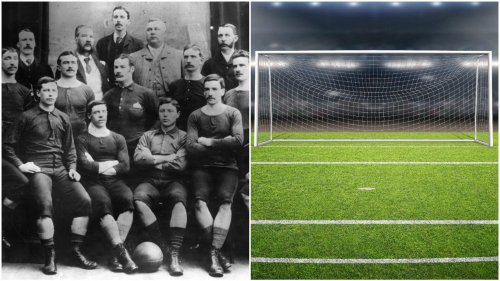 Who actually invented football - did the game originate in England or Scotland?