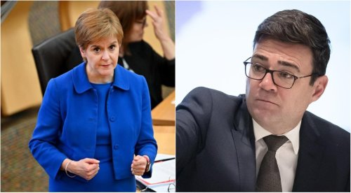 Nicola Sturgeon and Andy Burnham travel ban row escalates after 'confidential meeting'