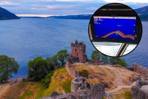 New sonar images appear to have captured the notorious Loch Ness Monster
