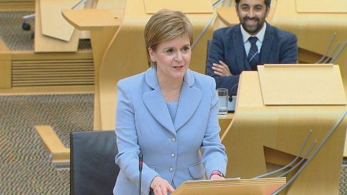 Nicola Sturgeon says 'clear mandate' for indyref2 as re-elected by MSPs as First Minister