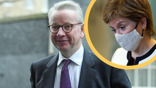 Nicola Sturgeon says Michael Gove's use of covid emergency money is a 'scandal'