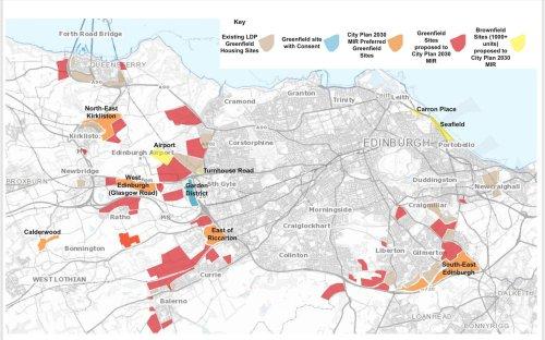 Battle looms over Edinburgh's greenbelt as city leaders decide how to meet Capital's housing needs