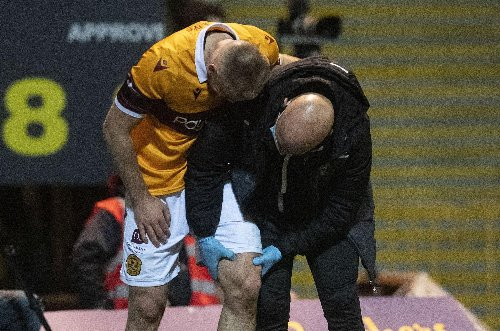 Relieved Motherwell sneak past Morton - but win comes at potential cost with worrying Allan Campbell injury
