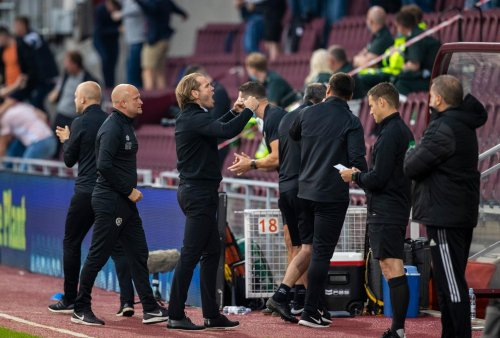 Robbie Neilson says beating Celtic must be just the start for Hearts as he praises Beni Baningime and 'world-class' Craig Gordon