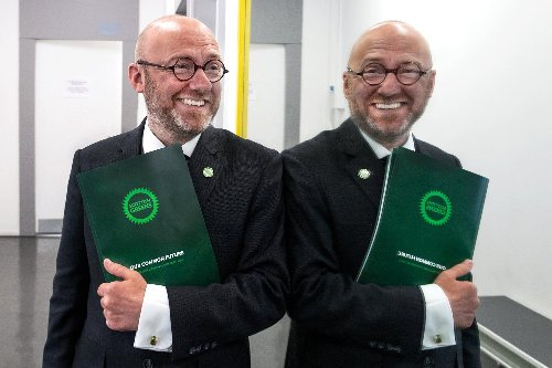 Race for Holyrood: Greens clone Patrick Harvie to help boost their MSP numbers
