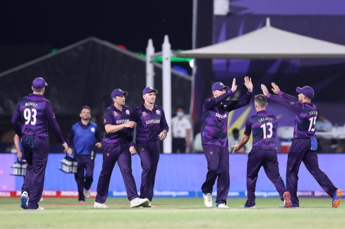 Cricket giants lie in wait as Scotland make history at T20 World Cup