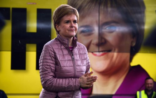 Sturgeon says she will work with Labour and does not rule out coalition with Greens
