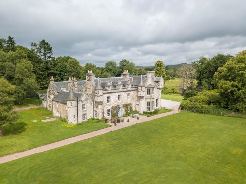 This incredible Scottish chateau might be the ultimate in luxury staycations