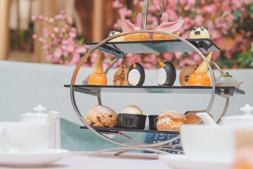 Edinburgh's Waldorf Astoria creates zoo-themed afternoon tea