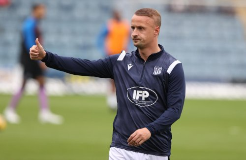 Dundee will have to make late call on Leigh Griffiths - team news ahead of clash with Aberdeen