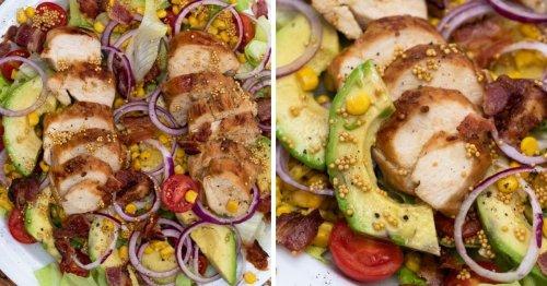 Delicious Avocado Chicken Salad with Honey Mustard