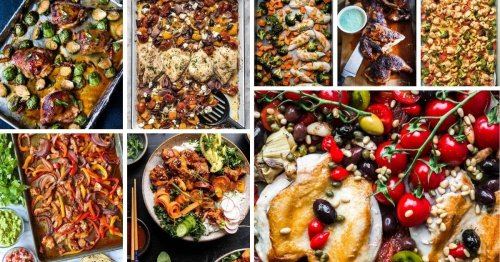20 Easy Flavor-Packed Sheet Pan Chicken Dinners