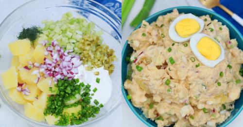 The Best All American Potato Salad Recipe