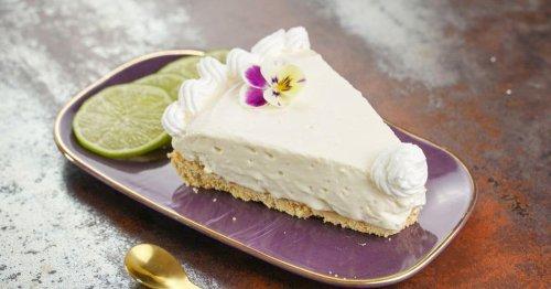 No Bake Lemon Icebox Pie with Sweetened Condensed Milk