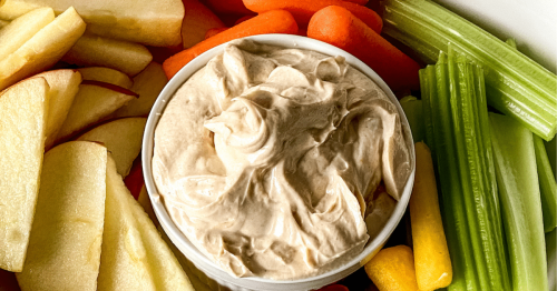 Super Creamy Nut Butter Dip Recipe