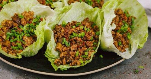 Copycat P.F. Chang's Teriyaki Chicken Lettuce Wraps
